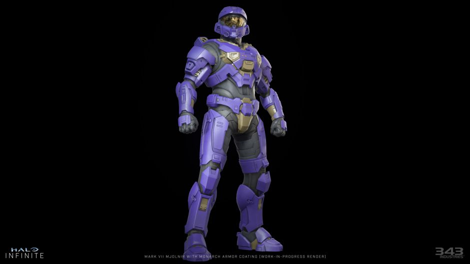 Halo Infinite nos enseña un primer vistazo de la armadura Spartan 'Monarch'