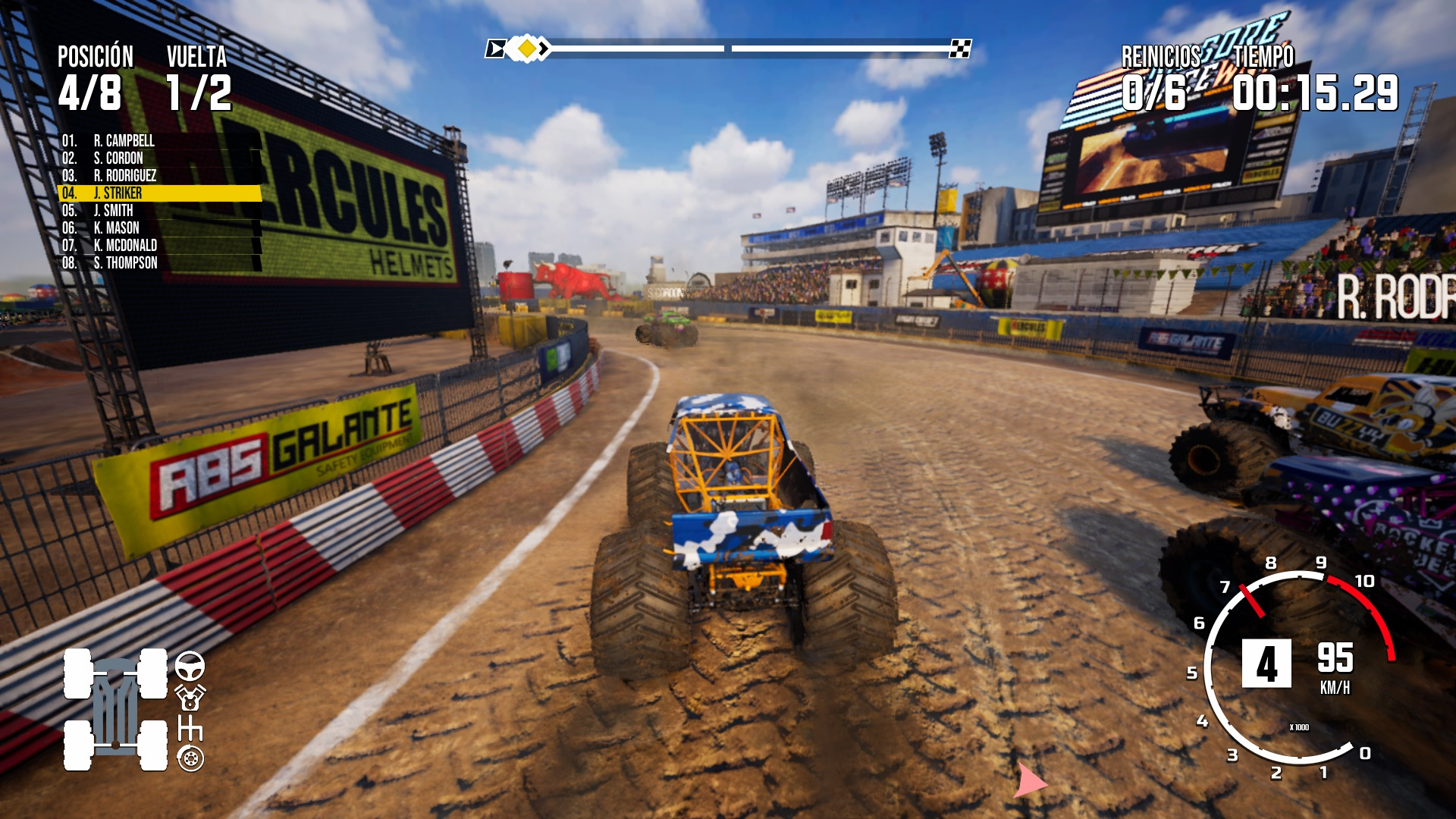 Análisis de Monster Truck Championship
