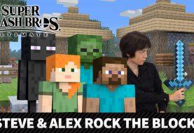 Steve y Alex abandonan Minecraft para combatir en Super Smash Bros .Ultimate