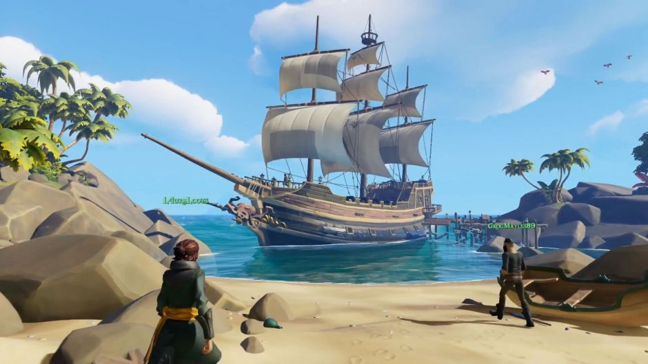 Nuevo récord de jugadores de Sea of Thieves en Steam