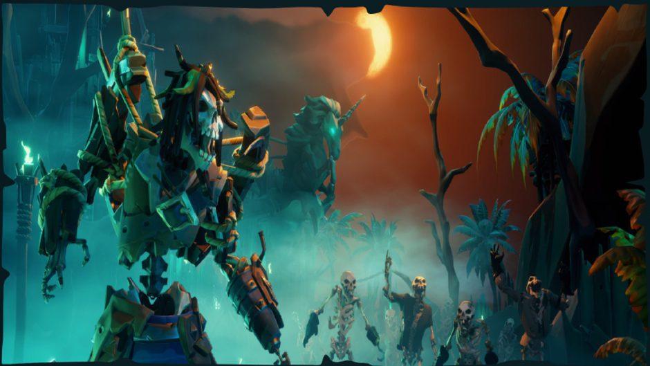 Sea of Thieves luce como un juego nuevo a 60 fps en Xbox Series X y S