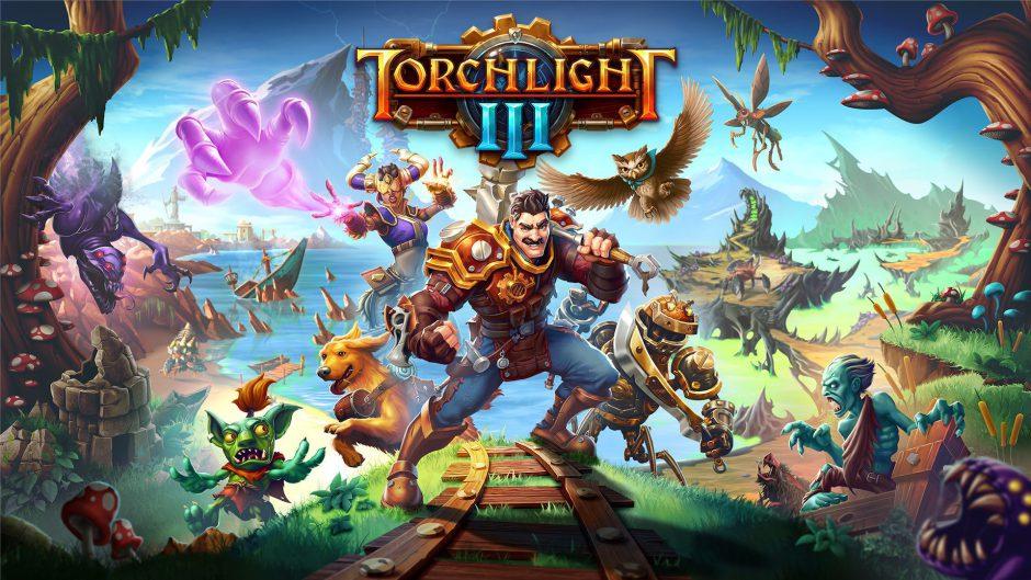 Nuevo tráiler de Torchlight III: 'Bienvenido a la Frontera'