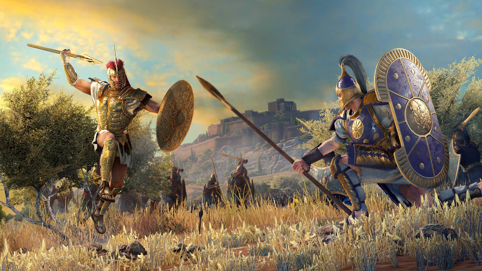 Total War Saga Troy - generacion xbox