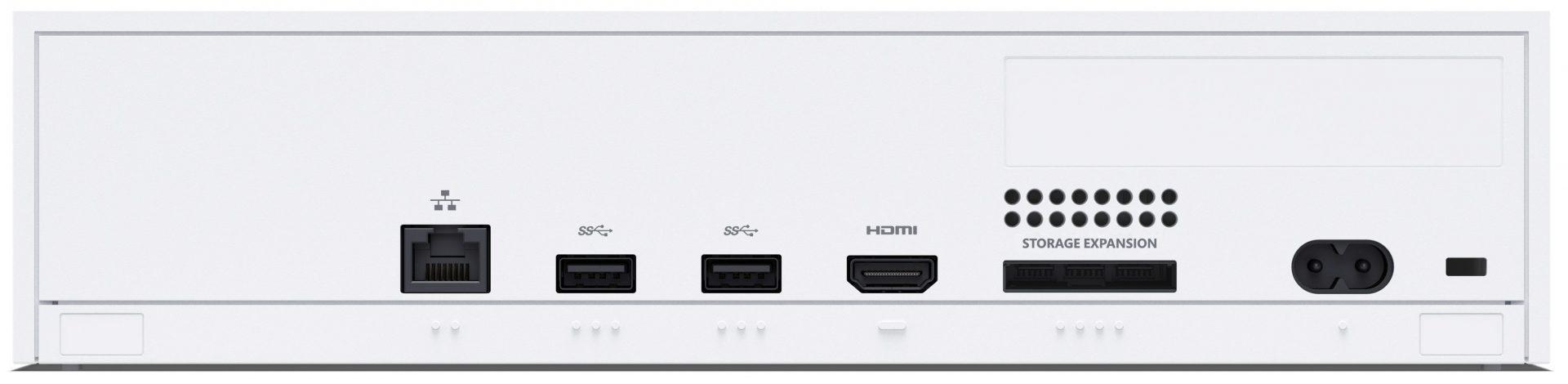 Xbox Series S - Back