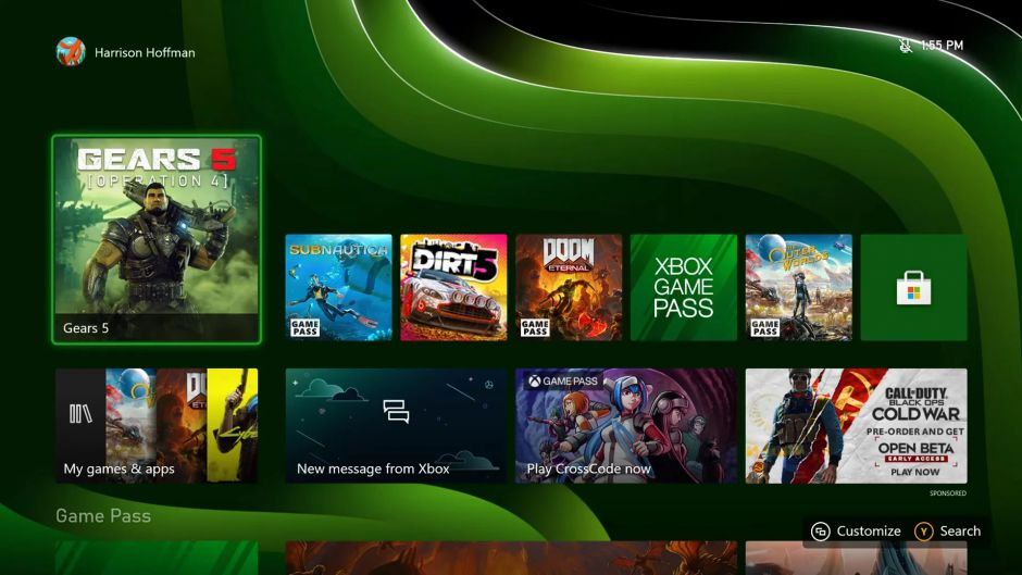 Los fondos dinámicos serán exclusivos de Xbox Series