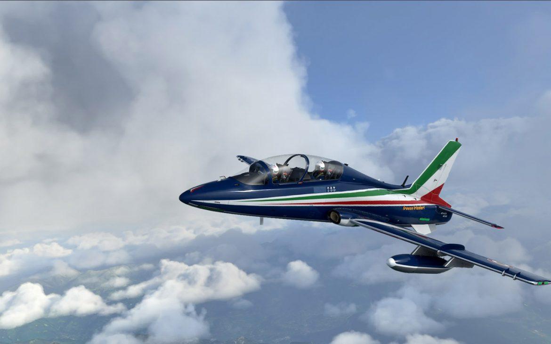 microsoft flight simulator - aermacchi - generacion xbox