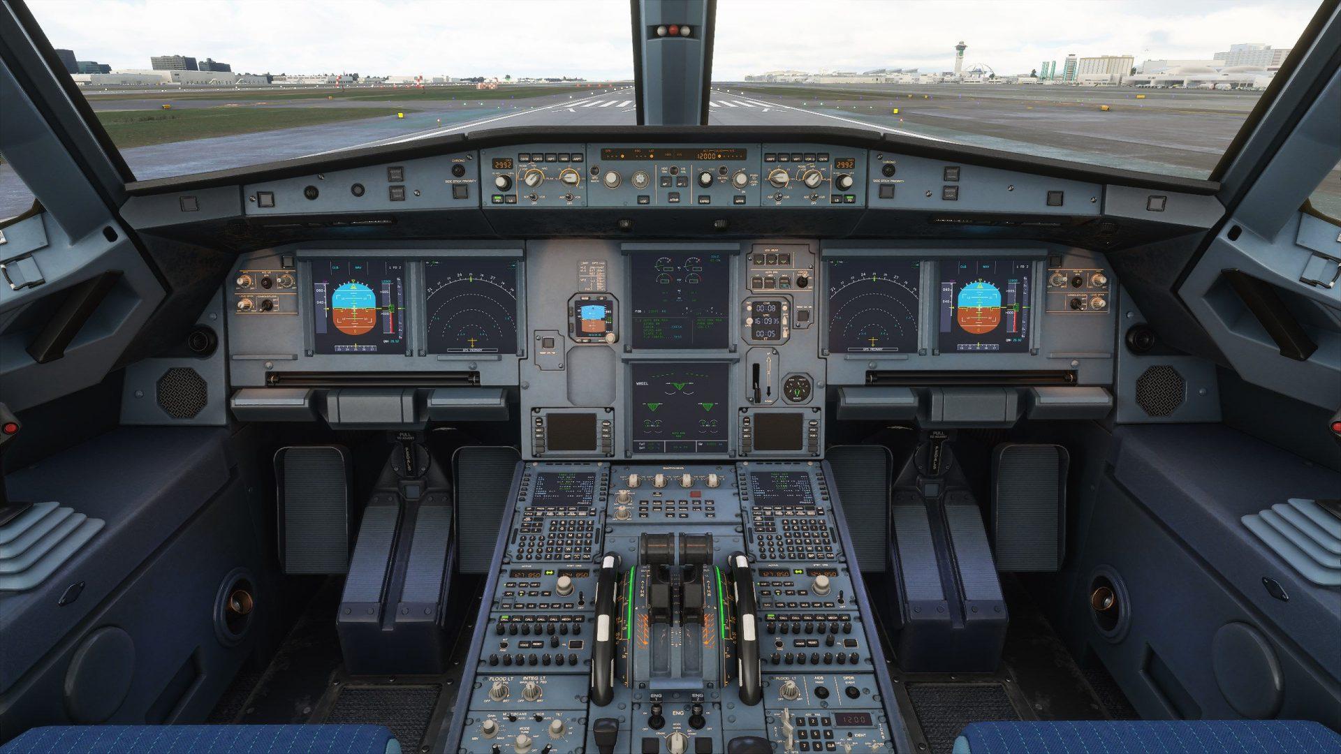 microsoft flight simulator - A320 - generacion xbox