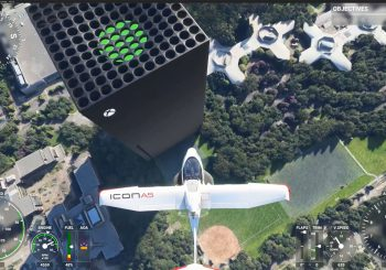 Un fan agregó un enorme Xbox Series X a Microsoft Flight Simulator
