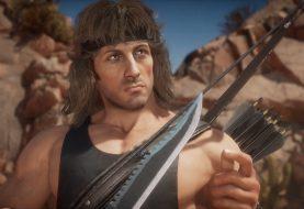 ¡Brutal! Disfruta del primer gameplay de Rambo en Mortal Kombat 11