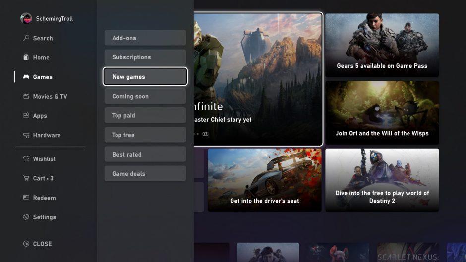 Te explicamos porqué la interfaz de Xbox Series no funciona a 4K, y las ventajas de ello