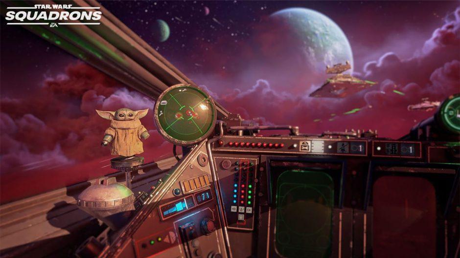 El contenido de The Mandalorian llegará a Star Wars Squadrons