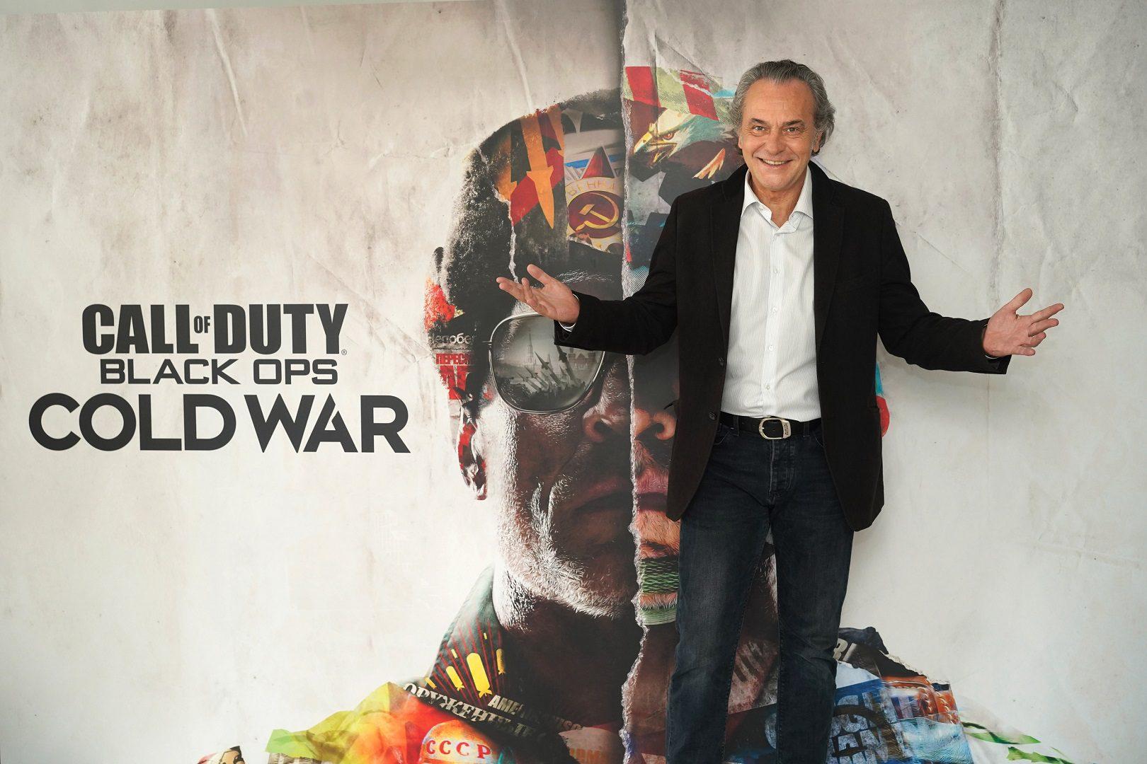 Jose Coronado pondrá voz a un personaje de Call of Duty Black Ops Cold War