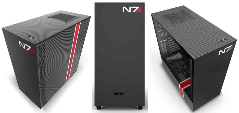 NXZT lanza chasis de ordenador inspirados en la franquicia Mass Effect