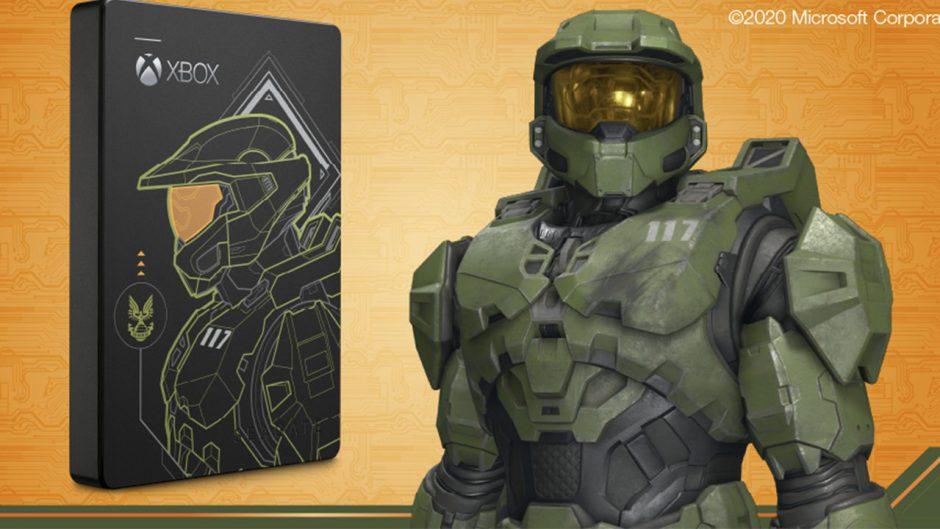 Seagate anuncia disco duro externo inspirado en Halo