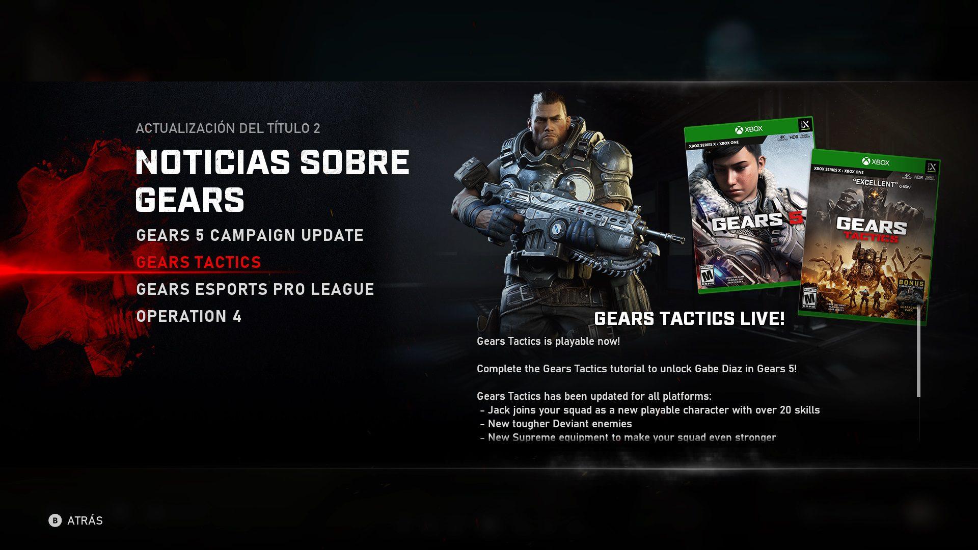 Así se consigue a Gabe Diaz como personaje jugable en Gears 5