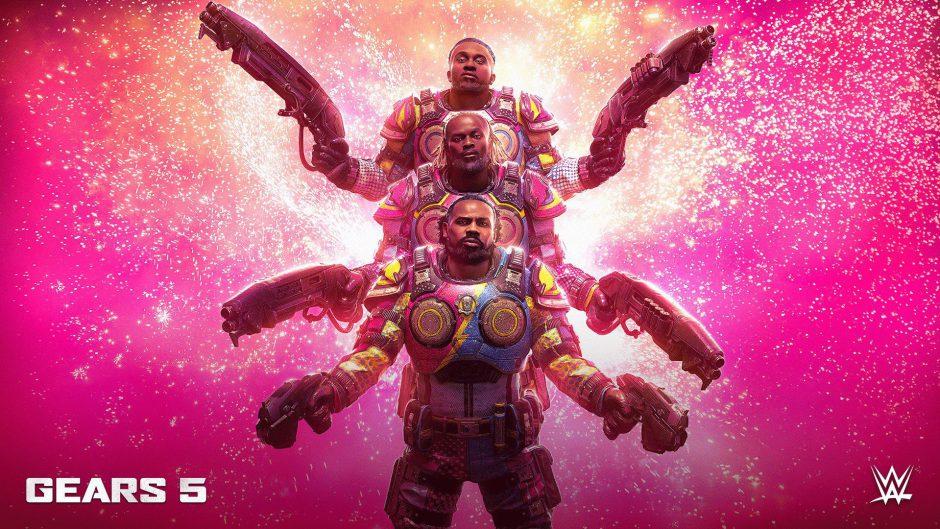Estos luchadores de la WWE ya se pueden conseguir en Gears 5 gratis con tu Ultimate