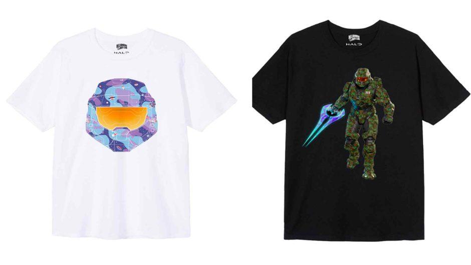 Homenajea al Jefe Maestro con estas camisetas de edición limitada de Halo