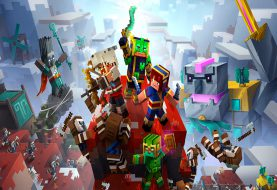 Minecraft Dungeons presenta Howling Peaks y su nuevo Season Pass