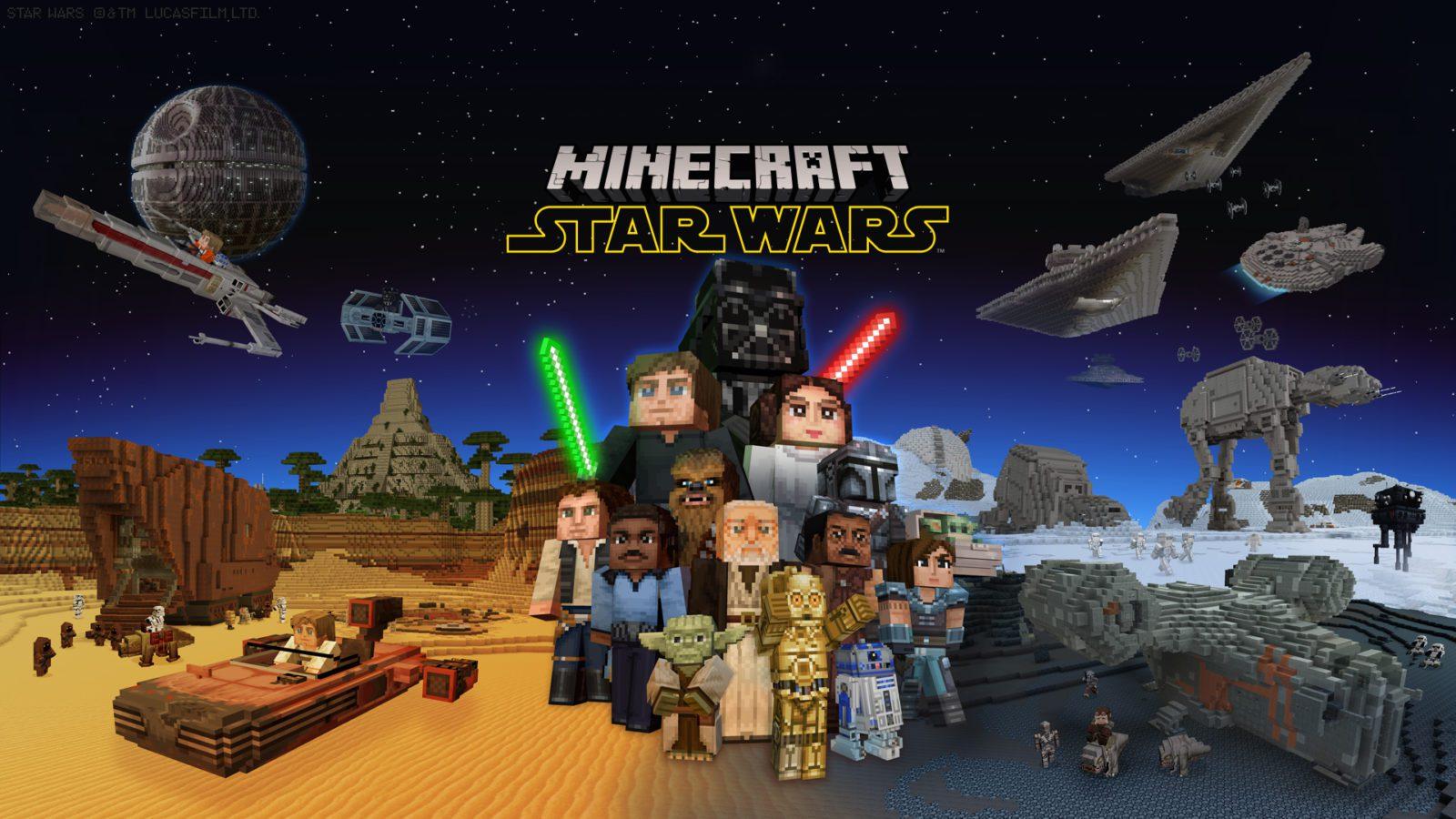 Minecraft - star wars - generacion xbox