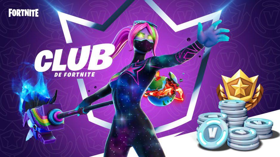 Epic regalará 500 Pavos extra a todos los miembros del Club Fortnite
