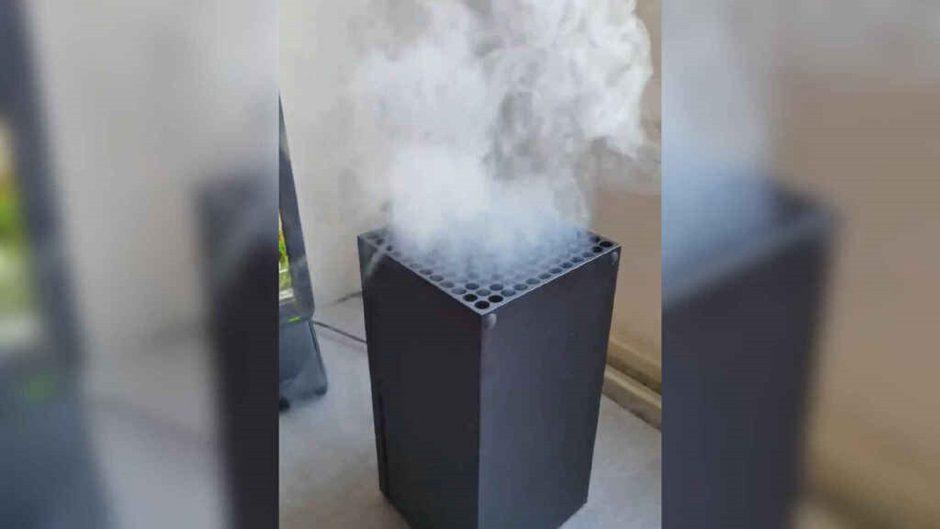 """Xbox se ríe del humo de Xbox Series X: """"Por favor no sople humo del vapeador a su consola"""""""