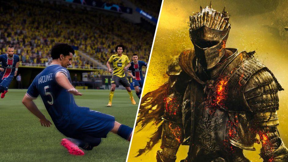 Dark Souls y FIFA entre los juegos más estresantes para los jugadores