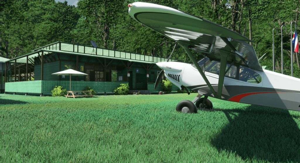 microsoft flight simulator 2020 - cub - generacion xbox