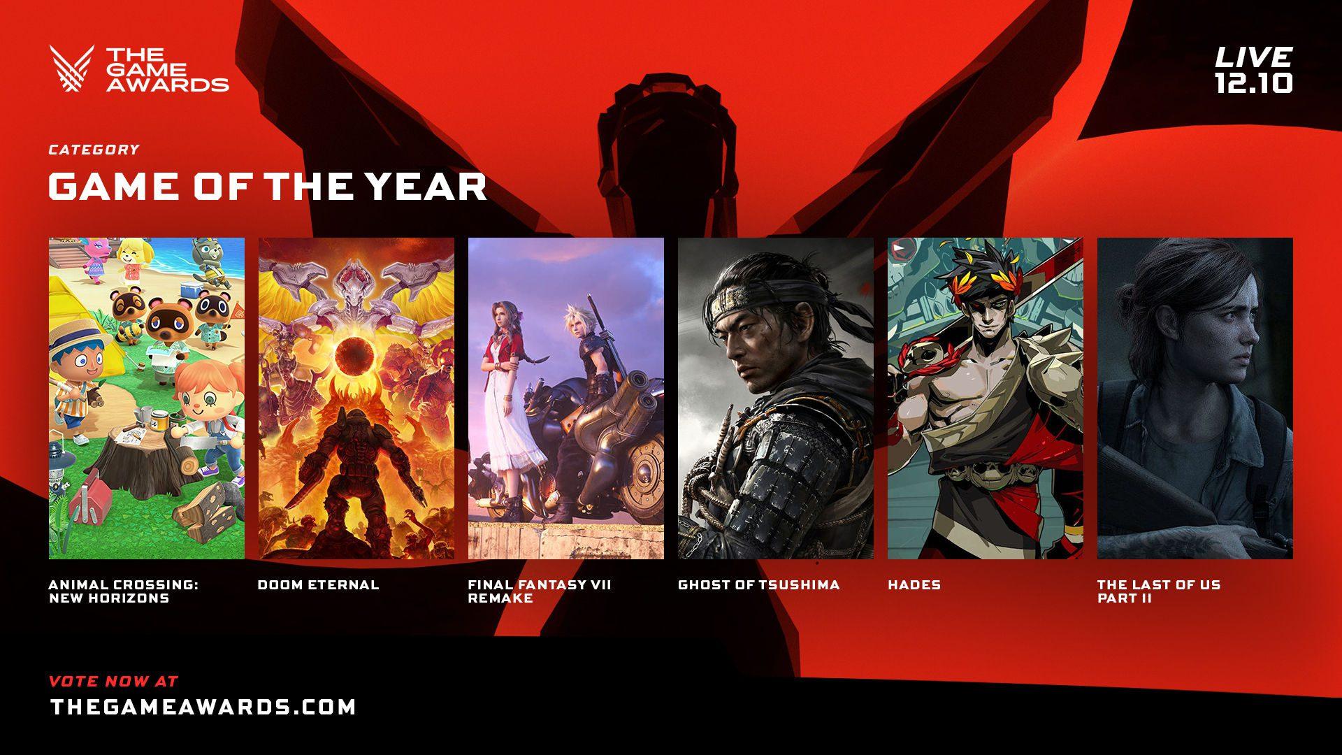 the game awards 2020 - nominados - generacion box