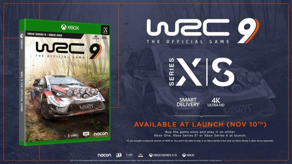 WRC 9 llegará a Xbox Series X y S como título de lanzamiento a 60 fps