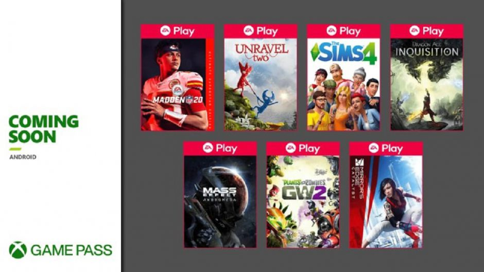 Ya disponibles estos 7 juegos de EA Play en Cloud Gaming gracias a Xbox Game Pass Ultimate