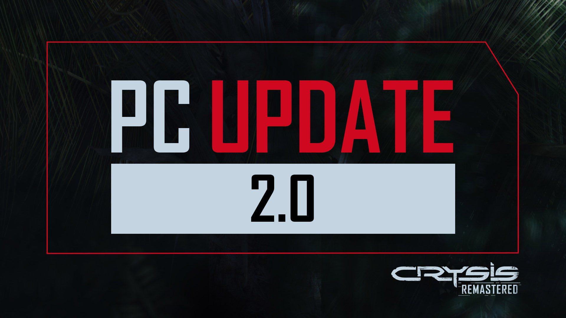 El parche 2.0 para Crysis Remastered en PC ya está disponible