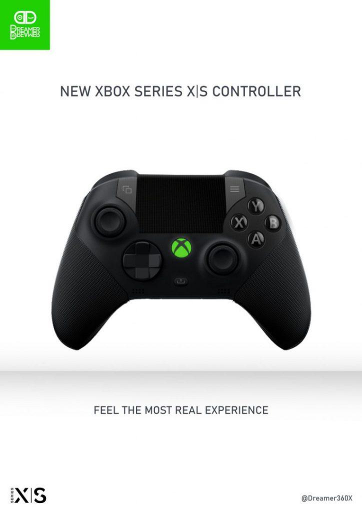Así sería el mando de Xbox Series con las características del DualSense de PS5