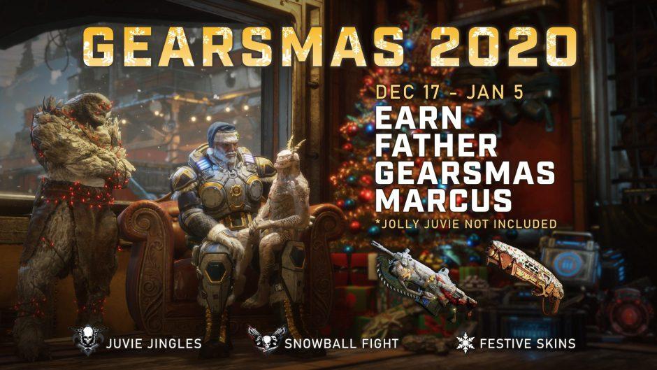 El evento de Navidad de Gears 5 comienza hoy mismo