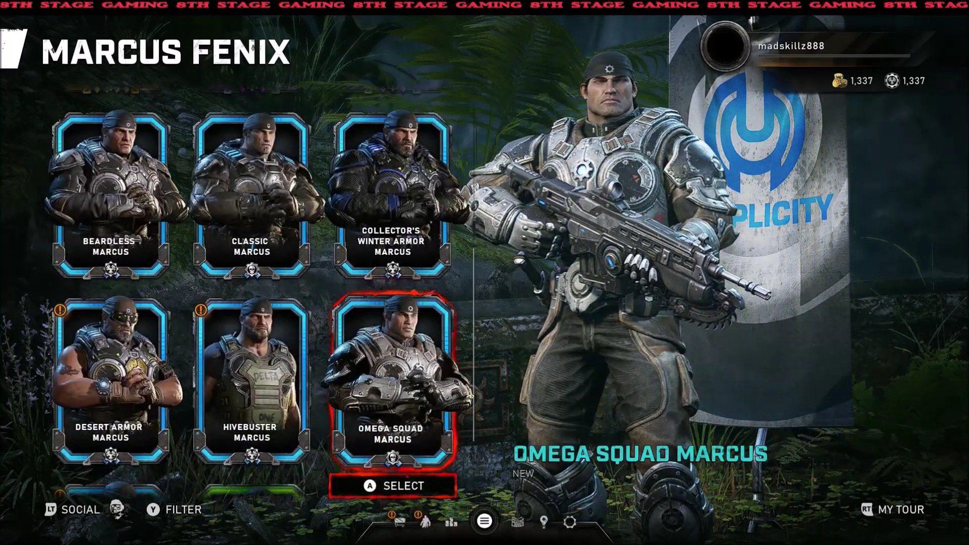 Se filtran un montón de personajes y skins que llegarían a Gears 5 en un futuro cercano