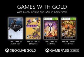 Ya disponible la segunda tanda de los Juegos con Gold de diciembre