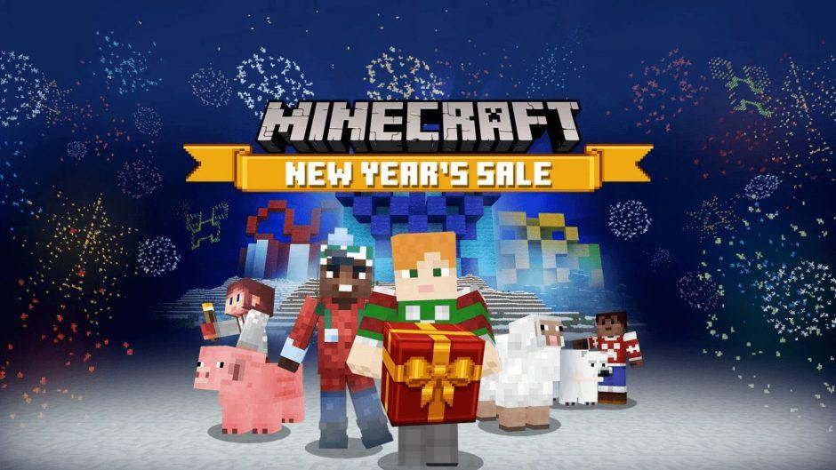 Minecraft Bedrock ya cuenta con las ofertas por el nuevo año