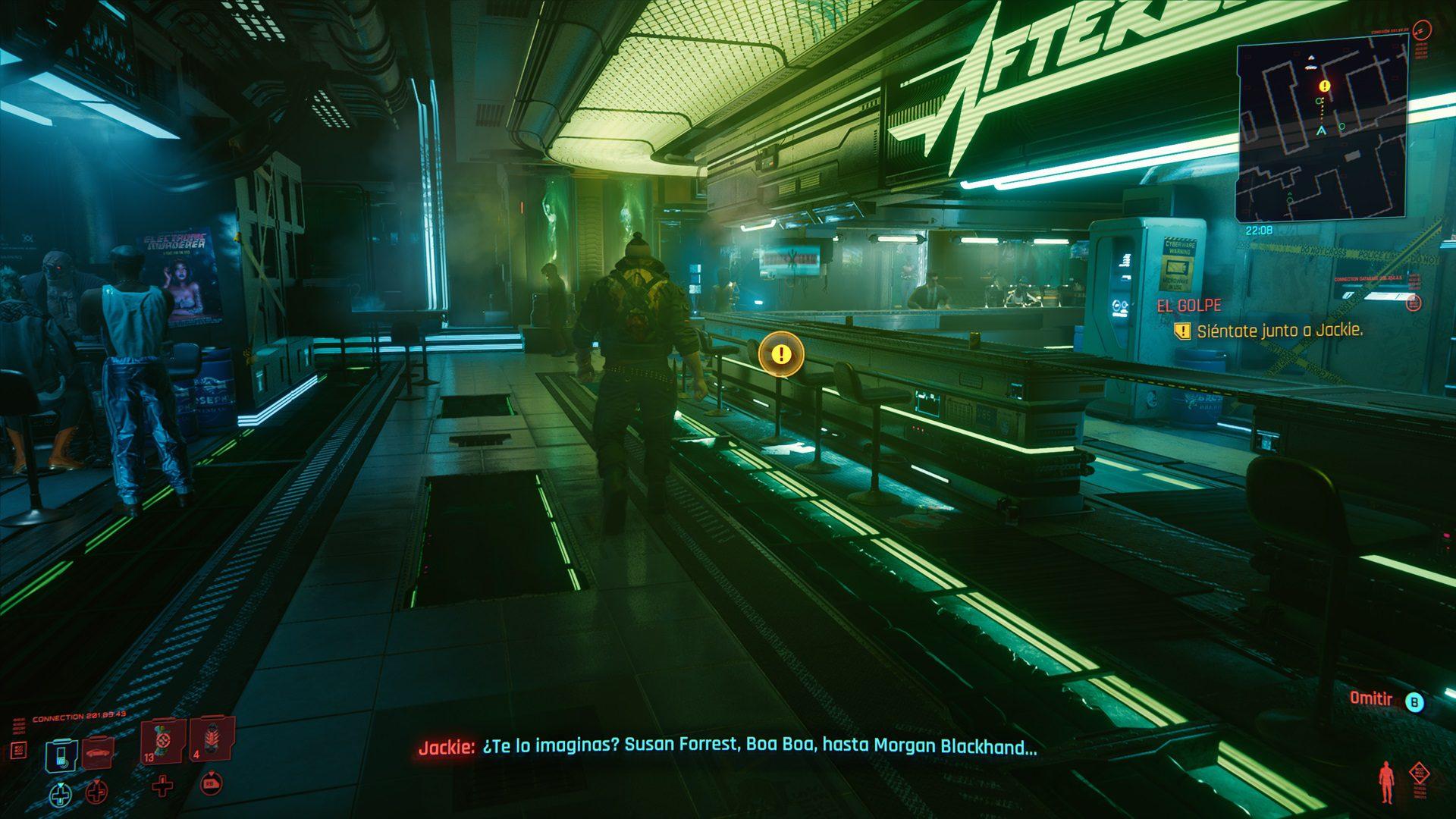 Análisis de Cyberpunk 2077 - Xbox Series X