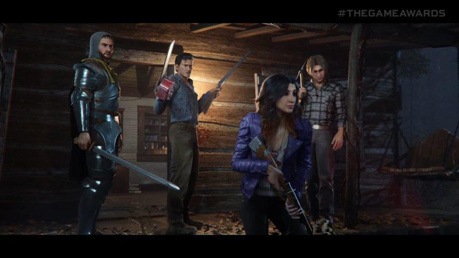 Evil Dead The Game anunciado oficialmente #TheGameAwards