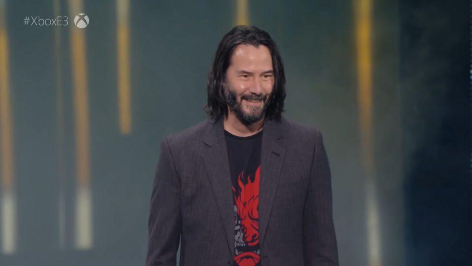 Keanu Reeves recuerda con emoción la presentación de Cyberpunk 2077 en el E3 del 2019