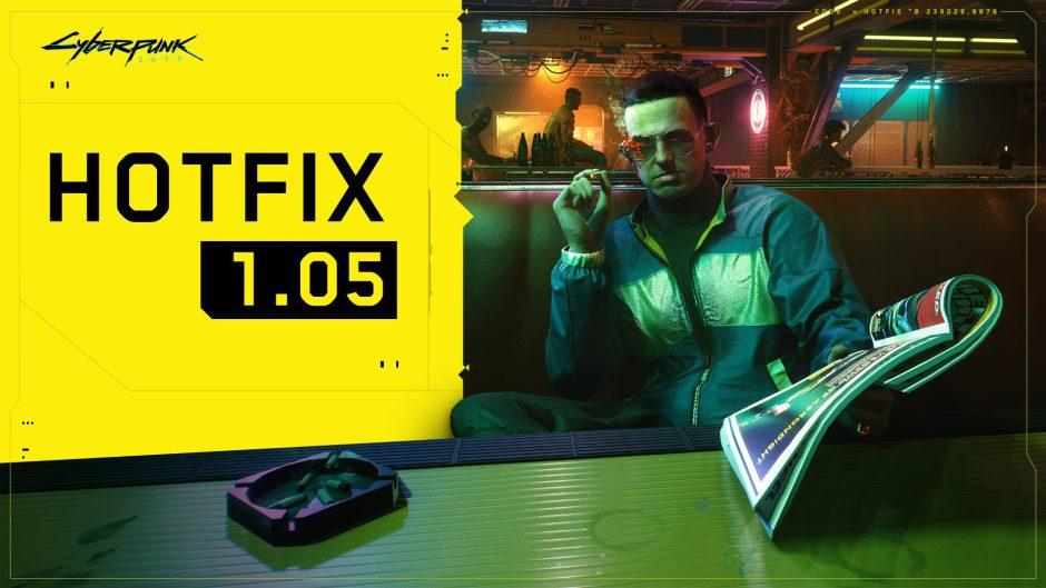 Cyberpunk 2077: Ya disponible el parche 1.05 en Xbox