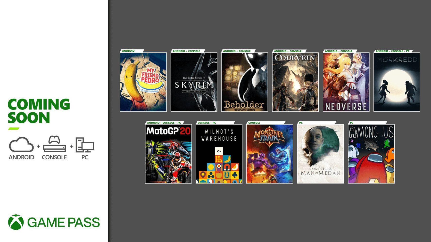 Desvelada la segunda tanda de juegos que llegarán a Xbox Game Pass en diciembre