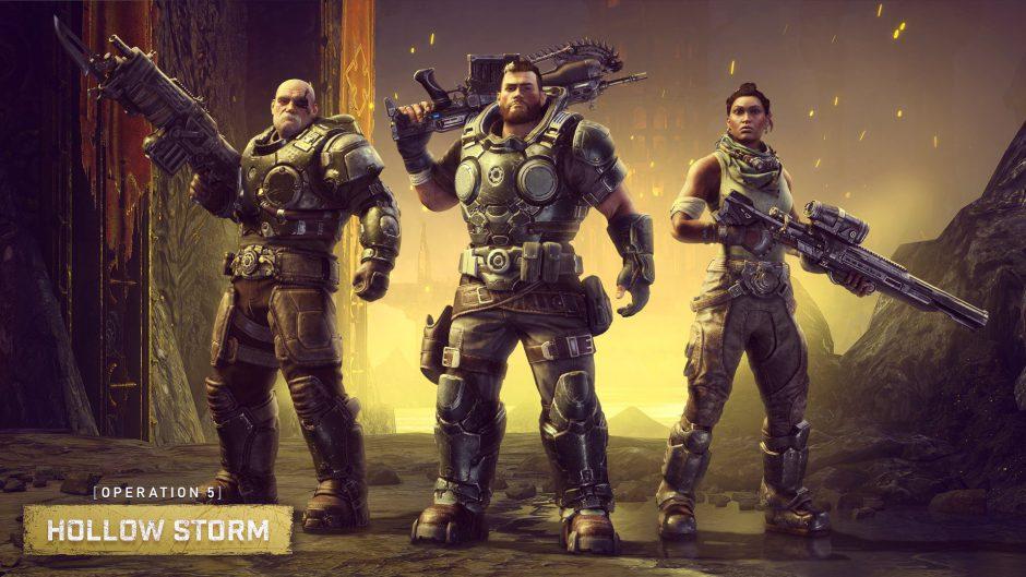 Varios personajes de Gears Tactics llegan a Gears 5 hoy mismo