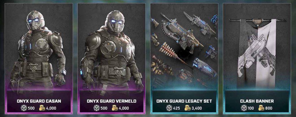 La guardia Onyx de Tactics y más novedades con la actualización de Gears 5 que llega hoy