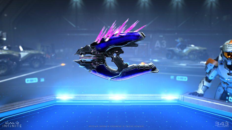 Nerf nos trae este nuevo aguijoneador de Halo en tamaño mini