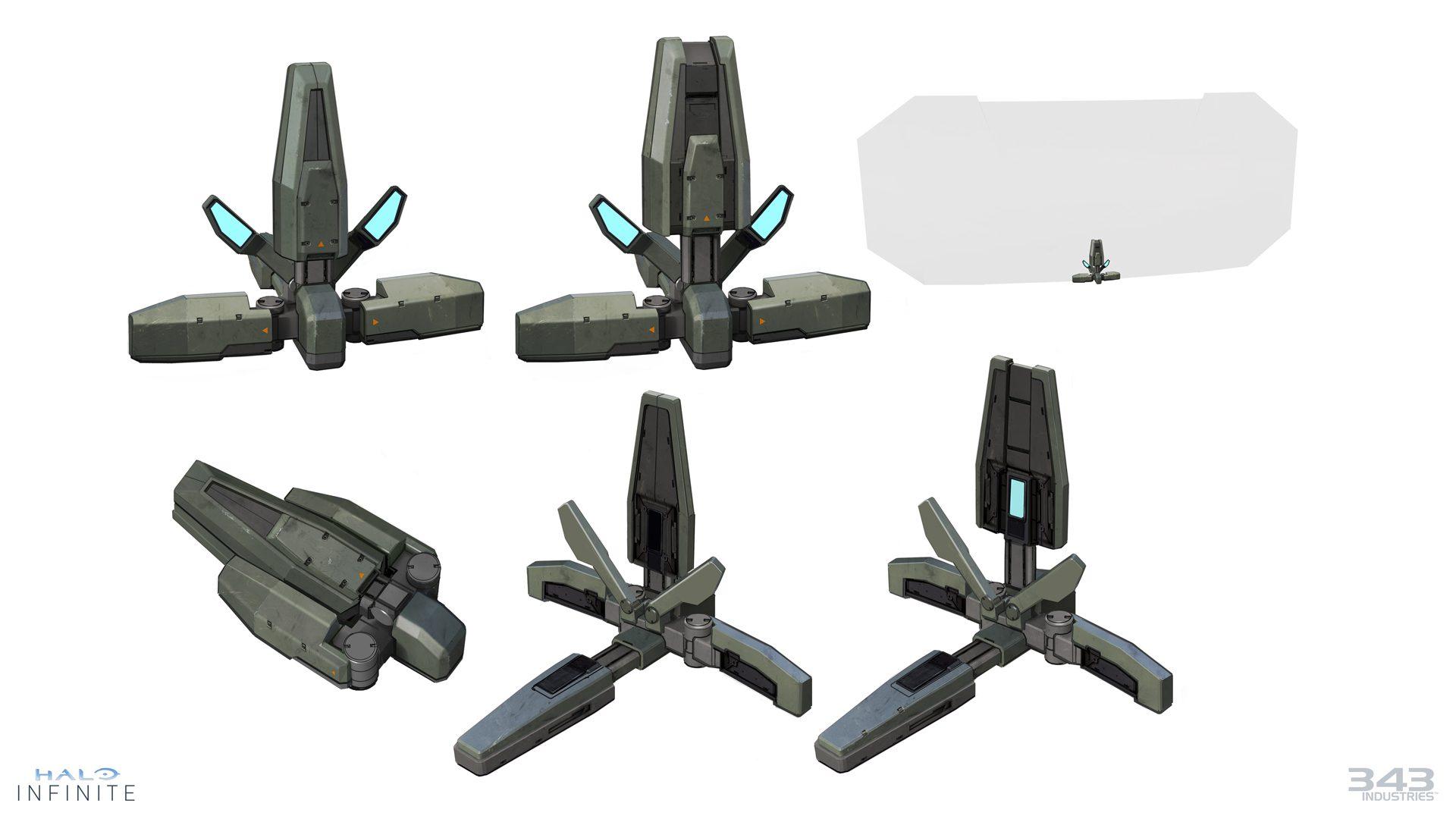 343 Industries habla del uso del equipamiento en Halo Infinite - 343 Industries ha mostrado nueva información sobre algunos aspectos de Halo Infinite como las armas, el equipamiento de combate, etc.