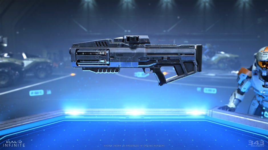 El diseño de las armas en Halo Infinite ha gustado más que lo visto en Halo 5