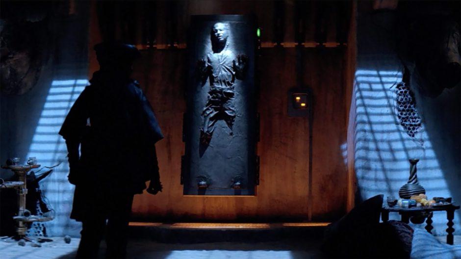 Un jugador ya creó una skin de Han Solo en carbonita para su Xbox Series X y se ve increíble
