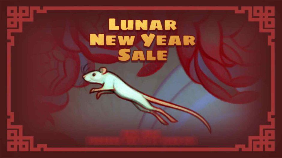 Las ofertas del año nuevo lunar de Steam comenzaran en febrero