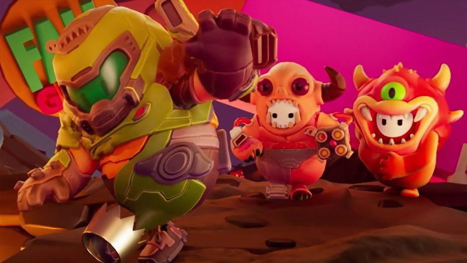 Skins de Doom llegarán a revolucionar a Fall Guys