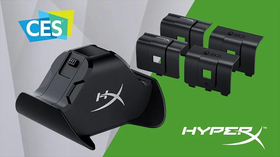 HyperX muestra en el CES una base para cargar los mandos de Xbox